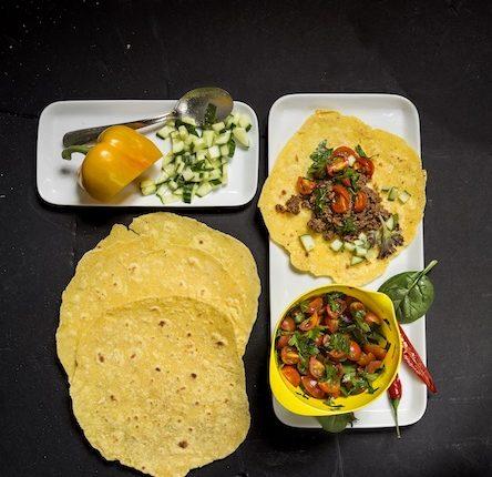 Tortillas, FODMAP, glutenfritt