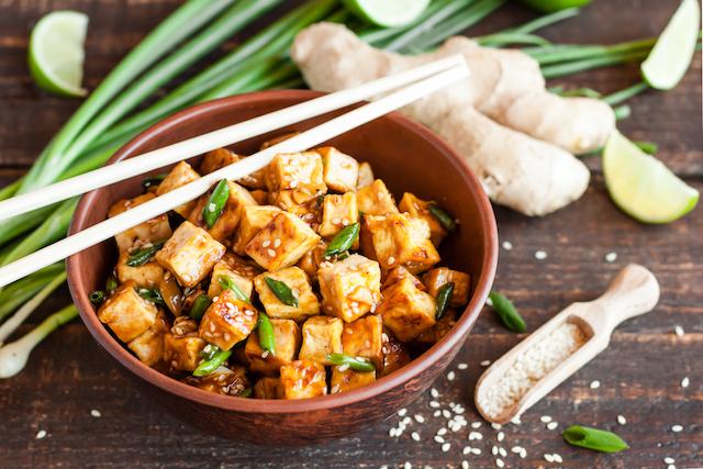 tillaga marinerad tofu