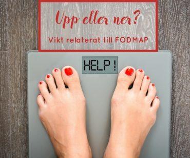 FODMAP och vikt